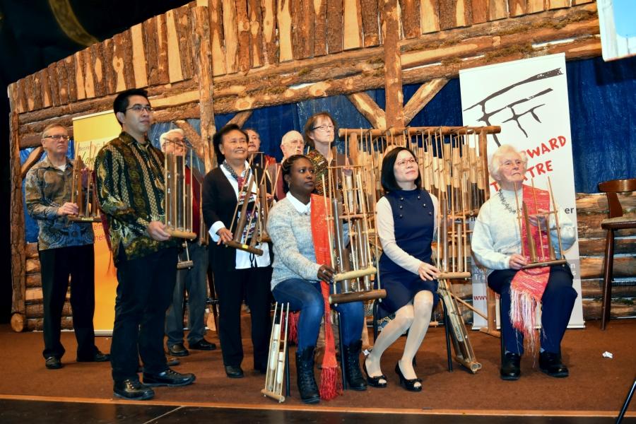 Angklung-Gruppe des IkuZ
